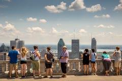Montreal-Stadtbild stockfotografie