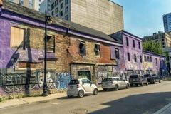 Montreal-Stadtszene Lizenzfreie Stockbilder