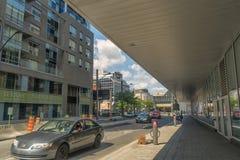 Montreal-Stadtszene Lizenzfreies Stockbild