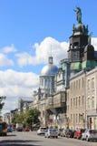 Montreal stary miasteczko, Quebec, Kanada Fotografia Royalty Free