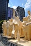 Montreal-Statue lizenzfreie stockbilder