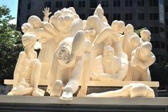 Montreal-Statue lizenzfreie stockfotografie