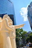 Montreal statue Stock Photography