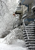 Montreal after storm Royalty Free Stock Photography
