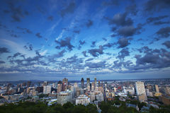 Montreal before the storm Stock Photos