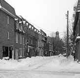 Montreal in the storm Royalty Free Stock Photos