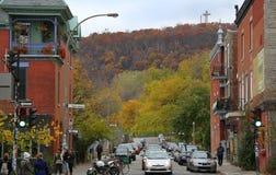 Montreal-Straße Lizenzfreie Stockfotos
