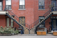 Montreal street stock image
