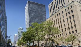Montreal-Szene lizenzfreies stockbild