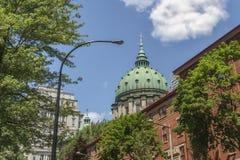 Montreal-Szene Lizenzfreie Stockbilder