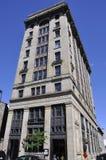Montreal 26th Czerwiec: Asekuracyjny budynek od Rucianego Notre Damae Montreal w Kanada Fotografia Stock