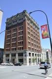 Montreal 26th Czerwiec: Historyczny budynek od Vieux Montreal w Kanada Obrazy Royalty Free