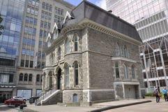 Montreal, 27th Czerwiec: Kościół prezbiteriański w Montreal w Quebec prowinci Fotografia Royalty Free