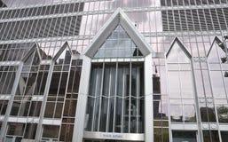 Montreal, 27th Czerwiec: Wycieczki turysycznej KPMG fasady szczegóły od śródmieścia Montreal Fotografia Stock