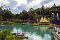 Montreal trädgårdar Royaltyfri Fotografi