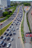 Montreal trafikstockning Royaltyfri Foto