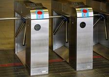 Montreal tunnelbana Arkivfoto