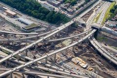 Montreal Turcot interchange project Stock Photos