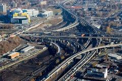 Montreal Turcot interchange project Royalty Free Stock Photo