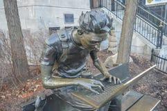 Montreal ucznia statua Zdjęcia Royalty Free
