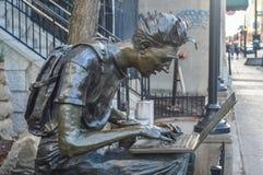Montreal ucznia statua Fotografia Royalty Free