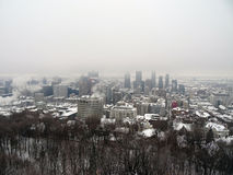 Montreal under snow 3 Stock Images