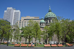 Montreal van de binnenstad Stock Foto's