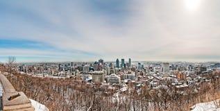 Montreal van mont-Koninklijk Royalty-vrije Stock Fotografie