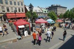 Montreal vieja Foto de archivo libre de regalías