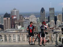 Montreal, view from Mount Royal Stock Photo