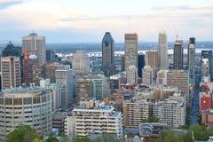 Montreal, visión escénica Foto de archivo
