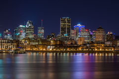 Montreal waterfront Stock Images