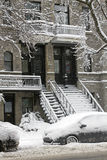 Montreal in the winter Royalty Free Stock Photo