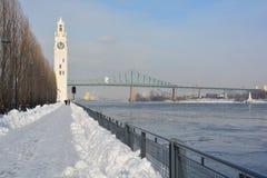 Montreal Zegarowy wierza Zdjęcia Stock