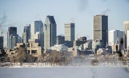 Montreal zima Obrazy Stock