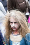 Montreal Zombie Walk, 2014 edition Royalty Free Stock Images