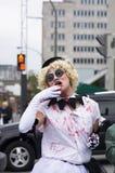Montreal Zombie Walk, 2014 edition Royalty Free Stock Photos