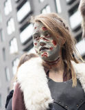 Montreal Zombie Walk Royalty Free Stock Photography