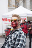 Montreal Zombie Walk Royalty Free Stock Image