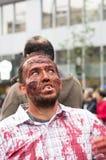 Montreal Zombie Walk Royalty Free Stock Photos