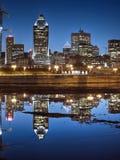 Montrealcité du Havre Fotos de Stock Royalty Free