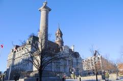 Montreals stadshus Arkivbild