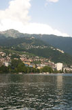Montreaux by Lake Geneva in the Summer Royalty Free Stock Images