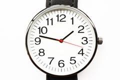 Montres-bracelet noires Images stock