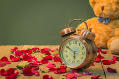 Montres de Rose de l'amour Image stock