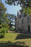 Montresor, Blumenanzeige, die Loire, Frankreich Lizenzfreies Stockfoto