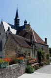 Montresor, Straßenbild, die Loire, Frankreich Lizenzfreies Stockfoto