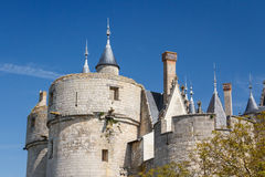 Montreuil-Bellay castle Royalty Free Stock Photo
