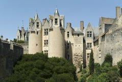 Montreuil del castillo francés bellay Fotografía de archivo
