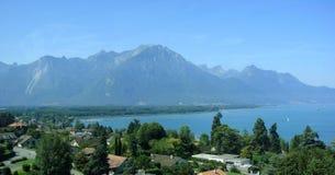 montreux Швейцария Стоковые Изображения RF